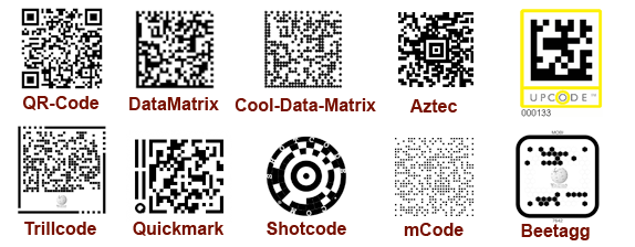 Mobile tagging codes